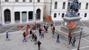 Venetisti, cartello contro l'eroe dei due mondi