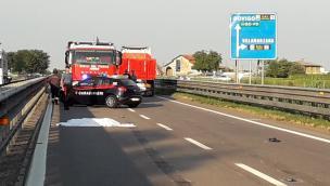 Incidente mortale in Traspolesana, un camion avrebbe centrato una vettura