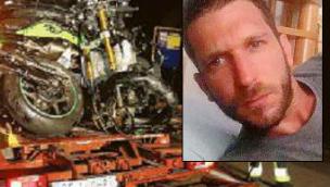 Muore sulla moto a 37 anni