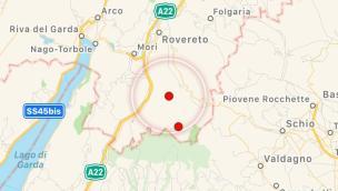 Terremoto in Trentino, trema anche il Veneto