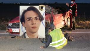 L'auto si ribalta e lo sbalza, Andrea muore a 46 anni