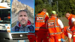 La città sotto choc: Matteo muore in moto a 40 anni