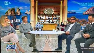 La storia va in tv: Bovo e D'Achille uniti dai fiori per sconfiggere la tristezza da lockdown