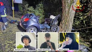 Tre ragazzini strappati alla vita dallo schianto: il Polesine è sotto choc
