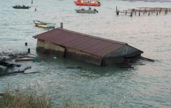 Distrutto il lavoro dei pescatori, danni pesantissimi nella Sacca