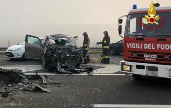 Nebbia, incubo in A31: tamponamenti a catena, un morto e numerosi feriti