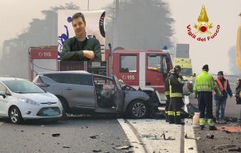 E' un noto imprenditore, padre di tre figli, la vittima dello schianto in autostrada