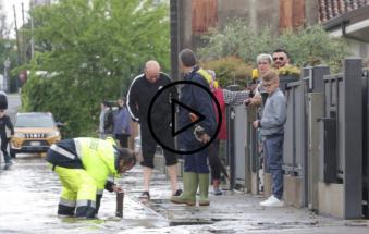 Mezzo Polesine sommerso, famiglie evacuate
