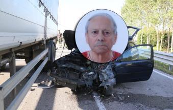 Tragedia sulla Regionale: si schianta e muore a 88 anni