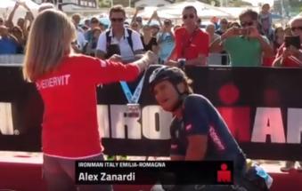 Alex Zanardi, batte se stesso ed è nuovo record mondiale.