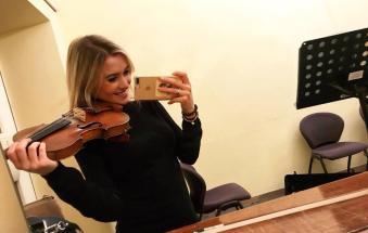 Il violino rodigino che suonerà all'Arena