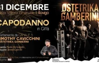 Capodanno in piazza, la conferma: arrivano gli Ostetrika Gamberini