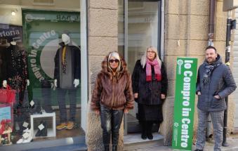 Nuova vita ai negozi sfitti della città