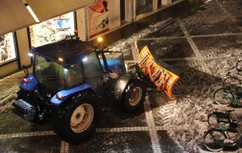"""""""Ringraziate gli agricoltori che vi hanno spalato la neve"""""""