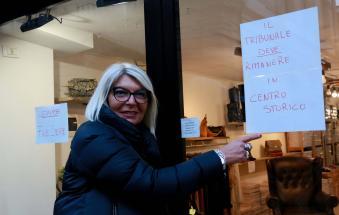Tribunale, i commercianti preparano la protesta in consiglio comunale