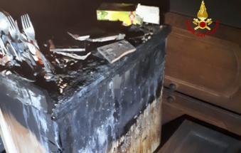 Esplode la cucina, 87enne salvata dai vicini