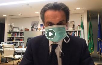 Coronavirus, il governatore della Lombardia in autoisolamento