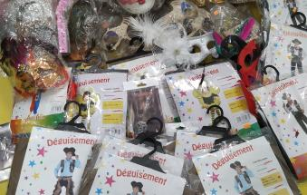 Sequestrati 15mila euro di giocattoli e maschere di Carnevale