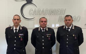 Nell'Arma polesana arrivano tre nuovi ufficiali