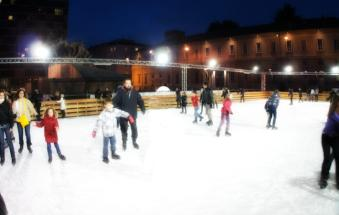 A Natale tutti sulla pista di ghiaccio
