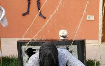 Le porte della casa piu' spaventosa del Polesine sono ufficialmente aperte