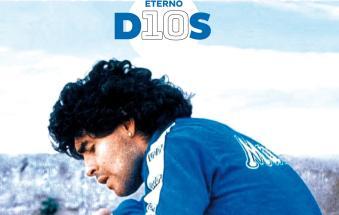 """""""Eterno D10S"""", con la Voce un grande inserto su Diego Armando Maradona"""