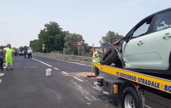 Tragedia in moto, è morto Michele Scarpa