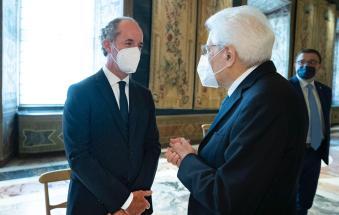 Zaia coi presidenti regionali da Mattarella