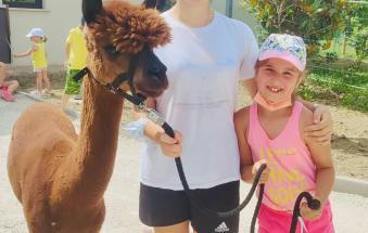 centro estivo per ragazzi a Corte Benetti di Rovigo, fra lama, alpaca, animali, prodotti tipici e giochi