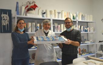 Una nuova super collaborazione per sostenere il laboratorio di ceramica per persone con disabilità