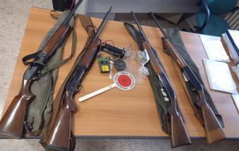 Beccati e denunciati 4 cacciatori che utilizzavano richiami vietati per attirare gli uccelli