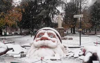 La neve ai confini del Polesine