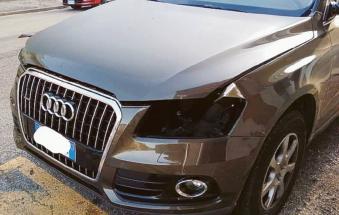 Attenzione: i ladri ti smontano l'auto