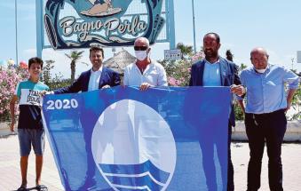 Taglio del nastro, a Rosolina Mare, per la stagione balneare 2020