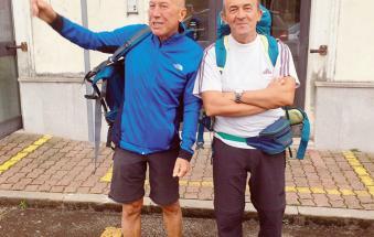 Un viaggio di 126 chilometri a piedi