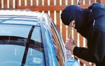 Raid dei ladri tra le vetture