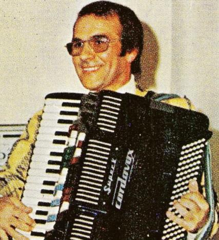 Addio alla fisarmonica di Tony Ciciana