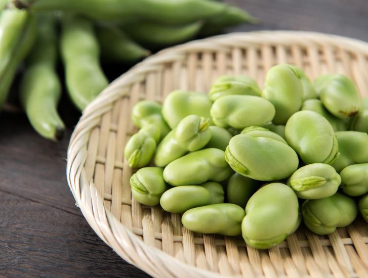 Le fave sono i legumi light della primavera
