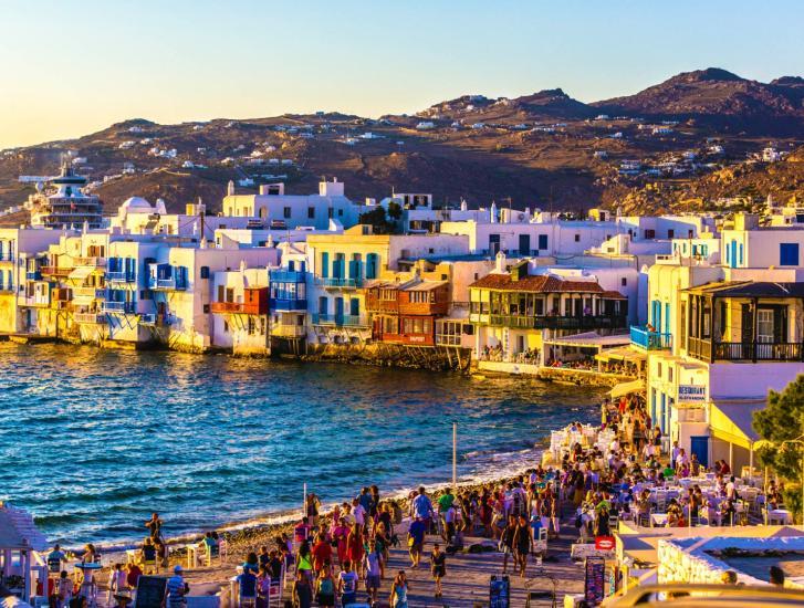 Un'estate di divertimento e di relax a Mykonos