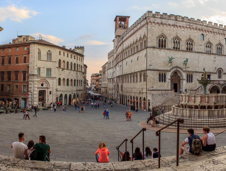 Perugia, una città dai mille volti culla del cioccolato