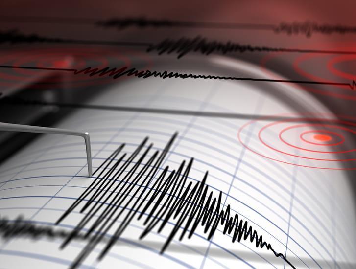E' stato un piccolo sciame sismico: sei le scosse nella notte