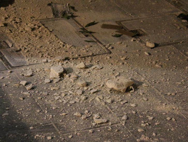 Chiesa chiusa: crollano intonaci