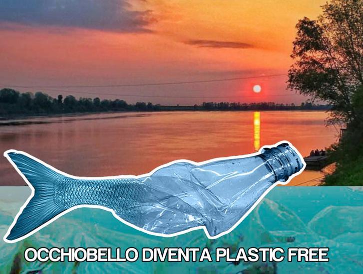 Occhiobello diventa plastic free
