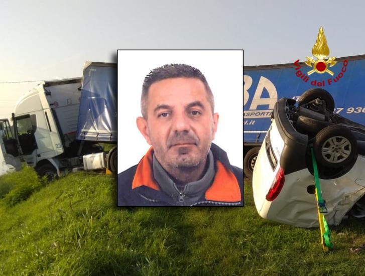 Ucciso nello schianto, paese sotto shock per Sandro