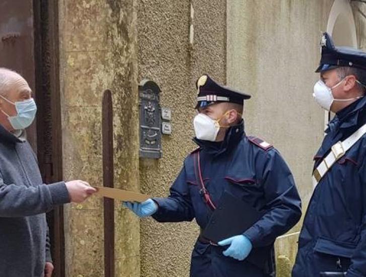 Poste Italiane e Carabinieri insieme per consegnare le pensioni a chi non può uscire di casa