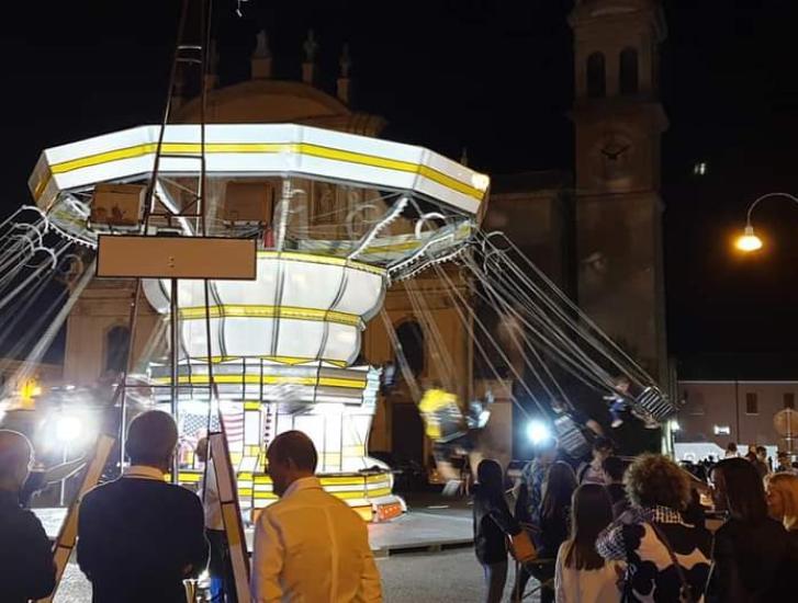 Torna il luna park in piazza Fetonte