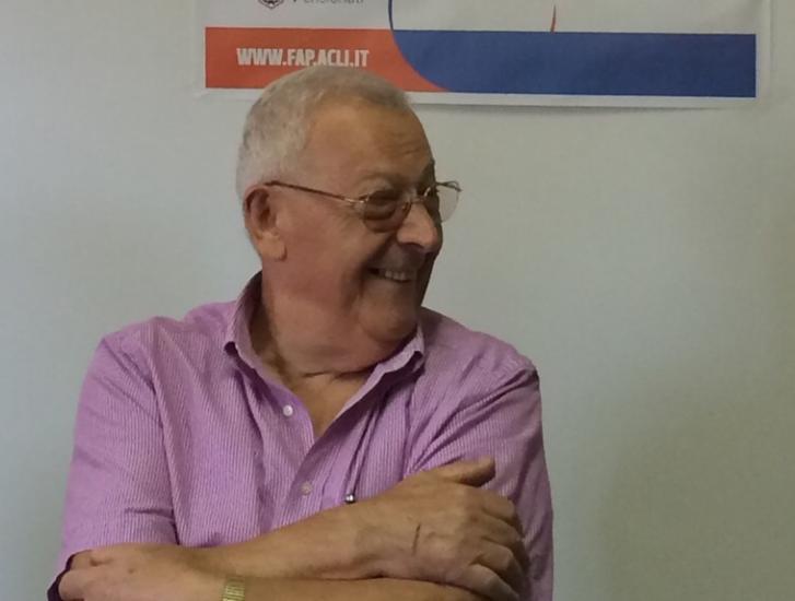 Acli Provinciali in lacrime: si è spento il maresciallo Giuliano Belli