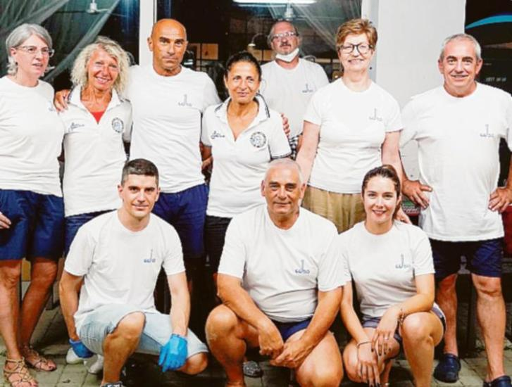 Il club Sommozzatori celebra i suoi 50 anni