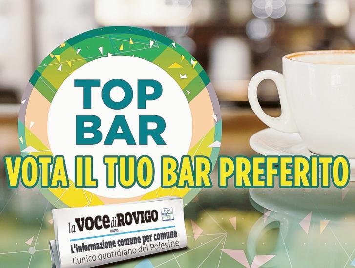 Top Bar: domani la prima scheda