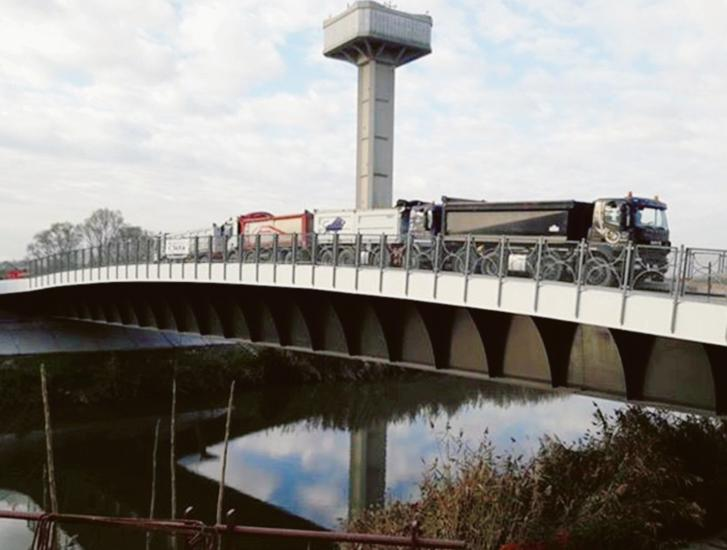 Boscochiaro, nuovi lavori al ponte